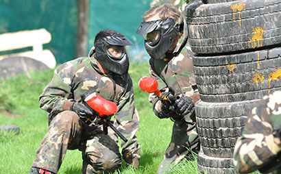 Paintballing Games